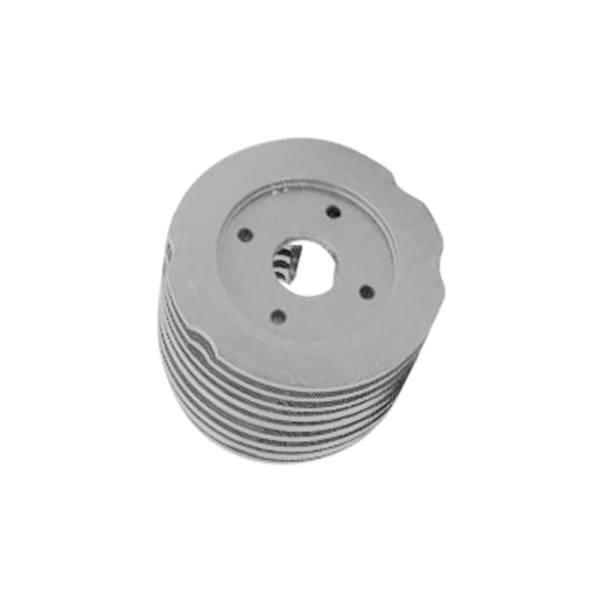 CNC玩具模型車零件規格產品-引擎散熱頭/CNC加工廠商,推薦抉懋。
