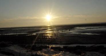萡仔竂漁港,美景當前,賞夕陽的好去處。