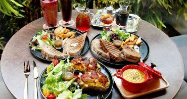 台中南屯,木門咖啡推陳出新,開放式三明治不止美拍更是好好食。