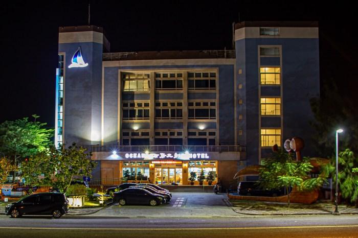 嘉義住宿,布袋文創海漾行館,結合住宿、遊客服務中心與商場的3星級飯店。
