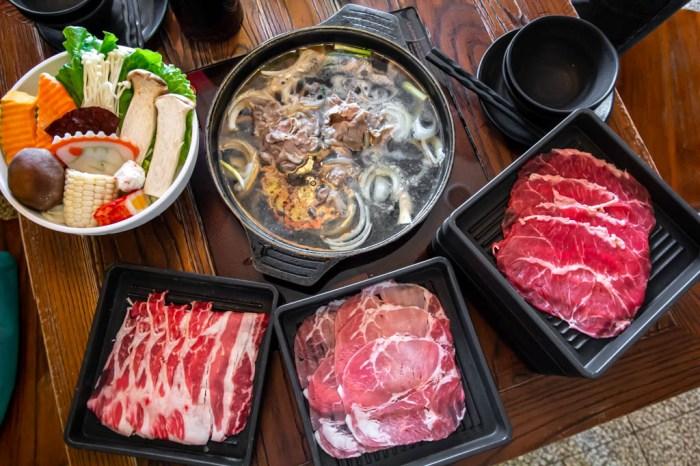 台中南屯,八豆食府壽喜燒~平日午餐吃到飽399元起。