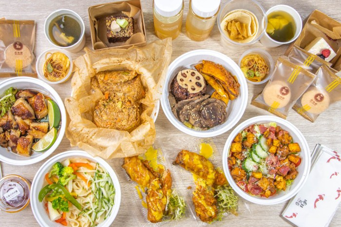 台中西區,外帶新選,Offer oh 昨日花卷~還有推出零廚藝也能吃好料的料理包。