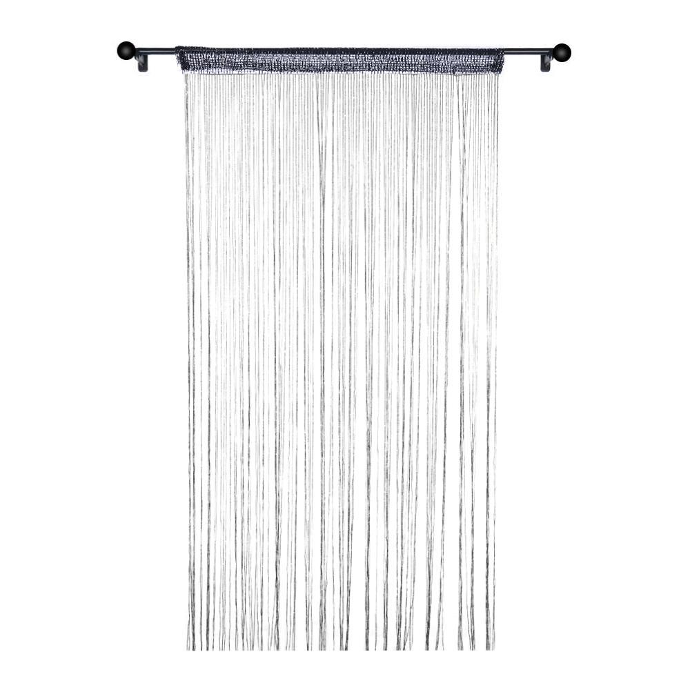 decorative flat door string curtain wall panel fringe window room divider cute strip tassel screen