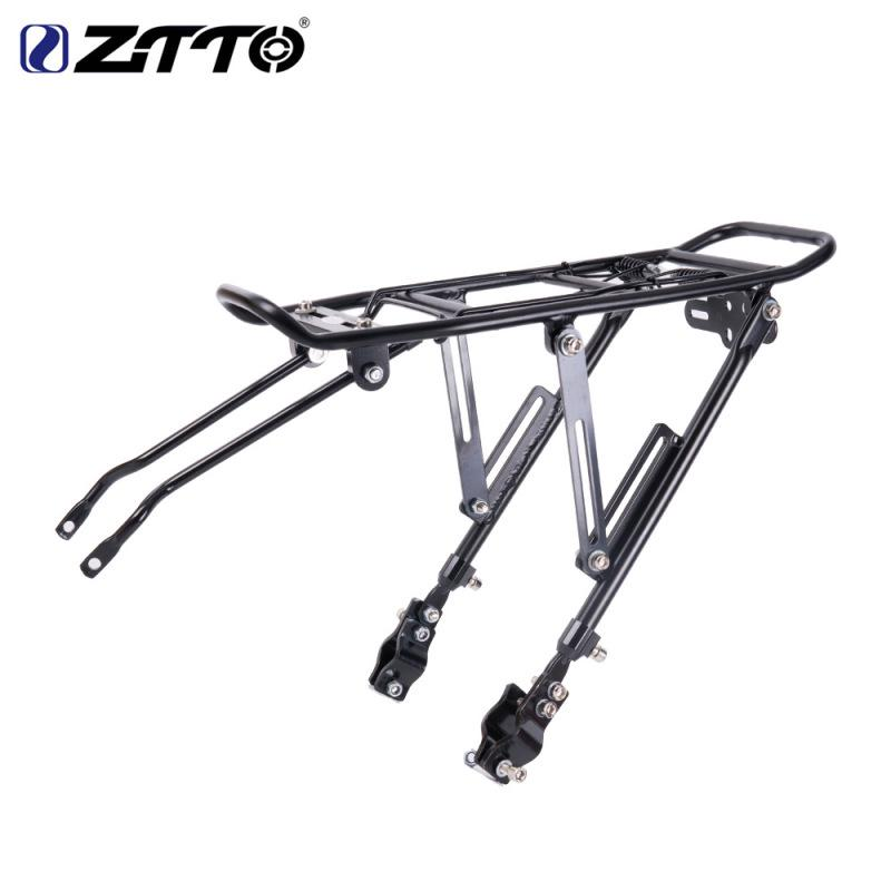 ztto bicycle rear rack carrier shelf cycling mtb bike back seat cargo rack for v brake