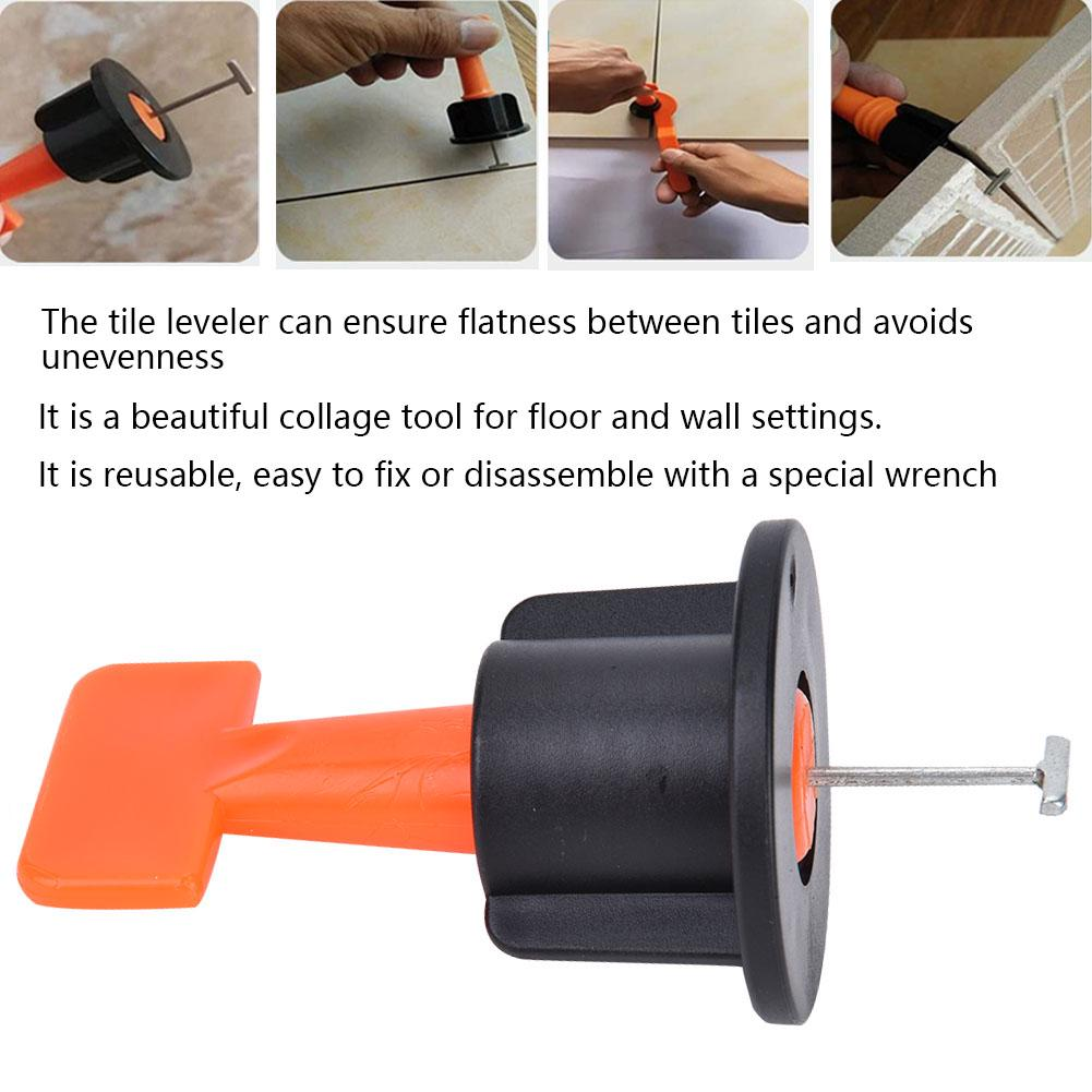 50pcs tile leveler flooring wall leveling system locator spacer building supplies