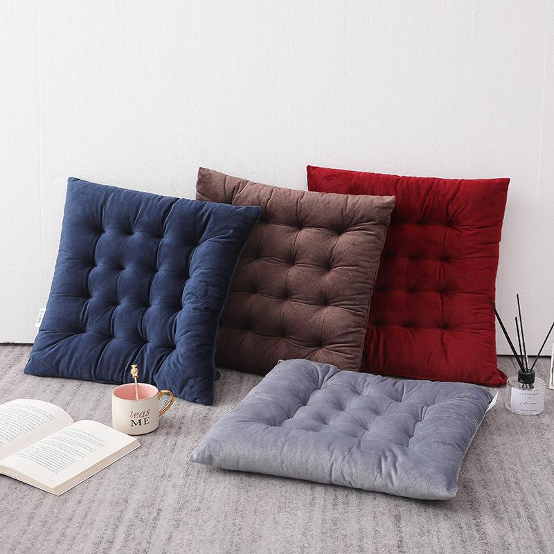 45cm quilted velvet padded cushion chair seat pads with ties garden dining kitchen buy at a low prices on joom e commerce platform