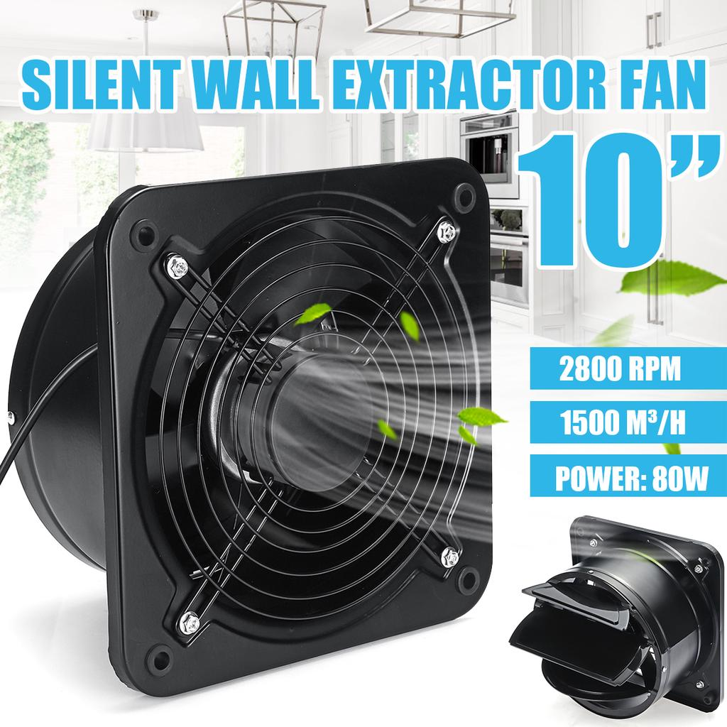 10 inch extractor ventilation fan professional exhaust air blower bathroom kitchen toilet cool xmas