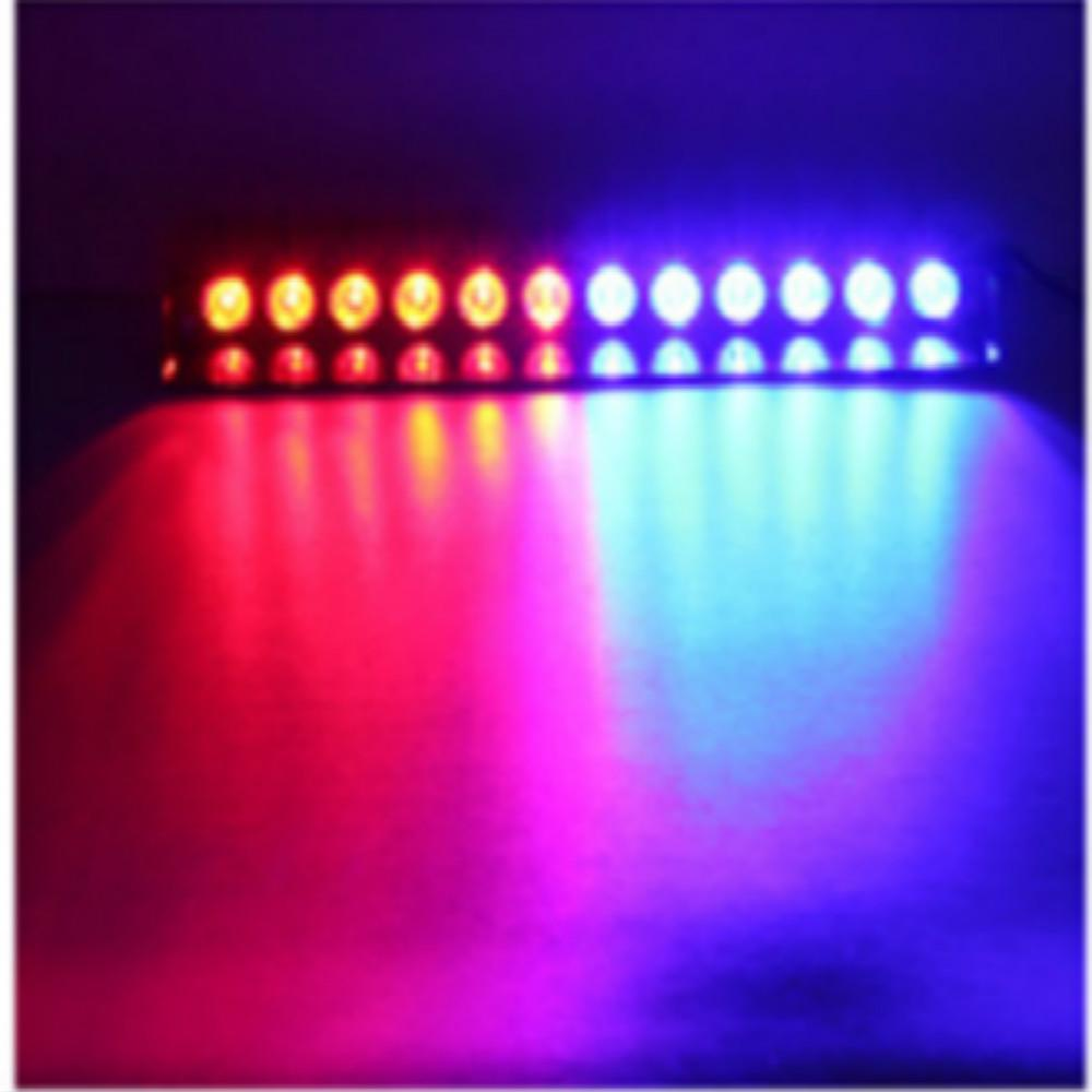 car led light s12 12led strobe police lights dc12v car front and rear gear warning flashing light