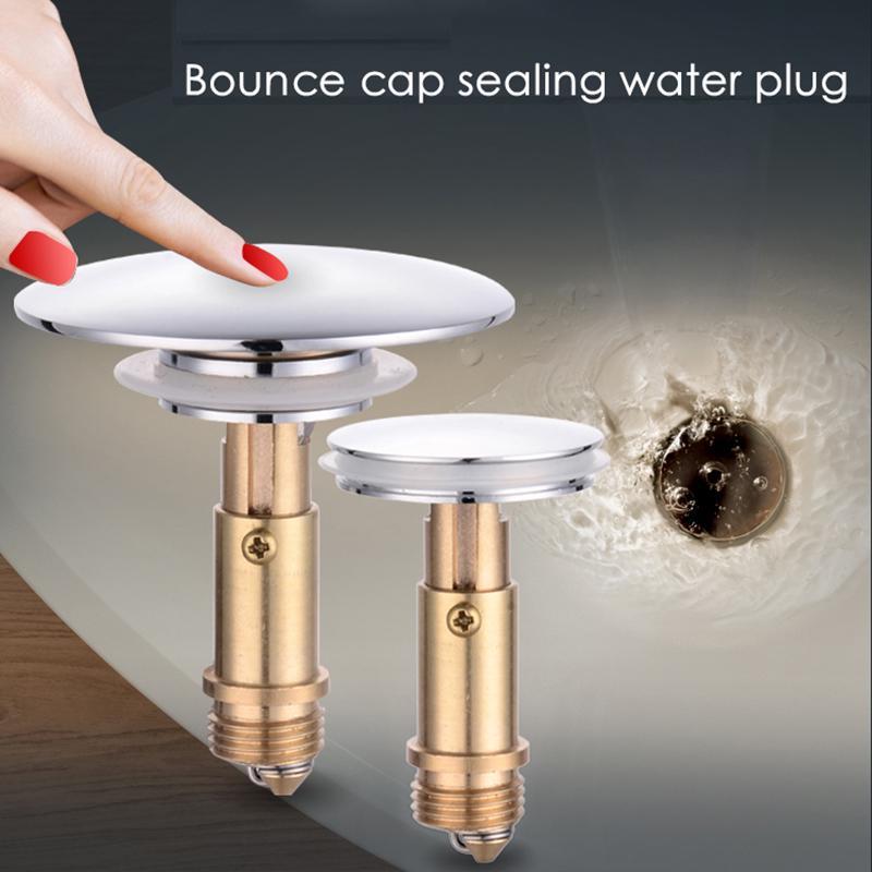dozzlor household drain stopper bathroom basin sink plug stopper poping up click clack plug for bath vanity sink