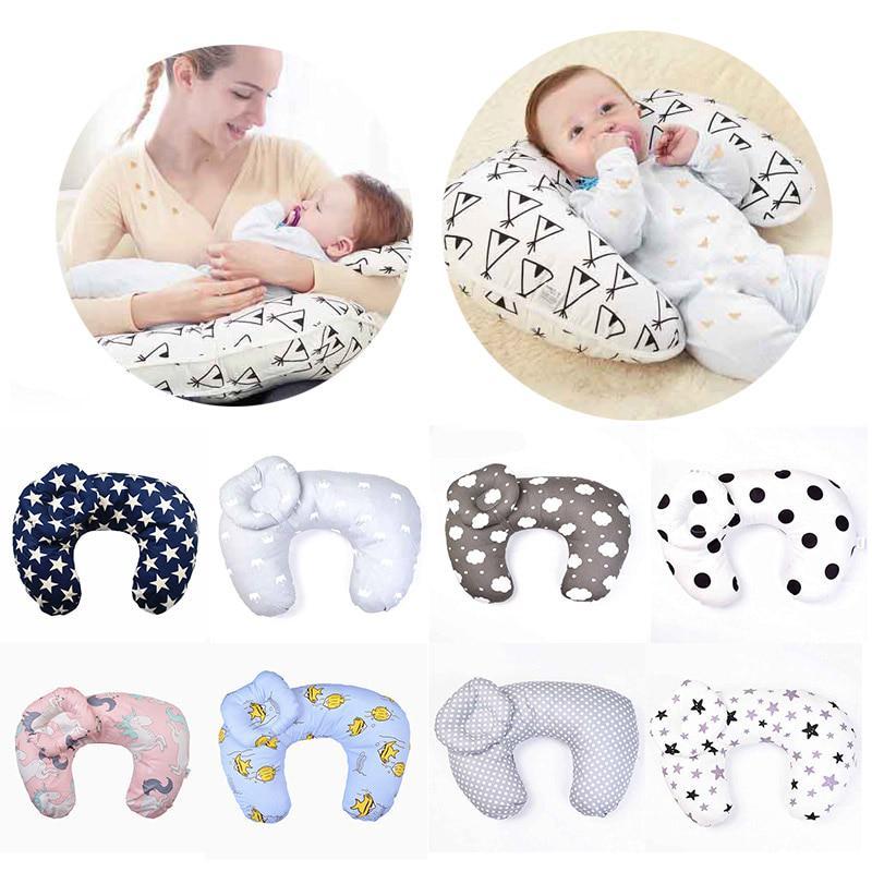 newborn baby nursing pillow baby u shape breastfeeding pillow infant cotton feeding waist cushion
