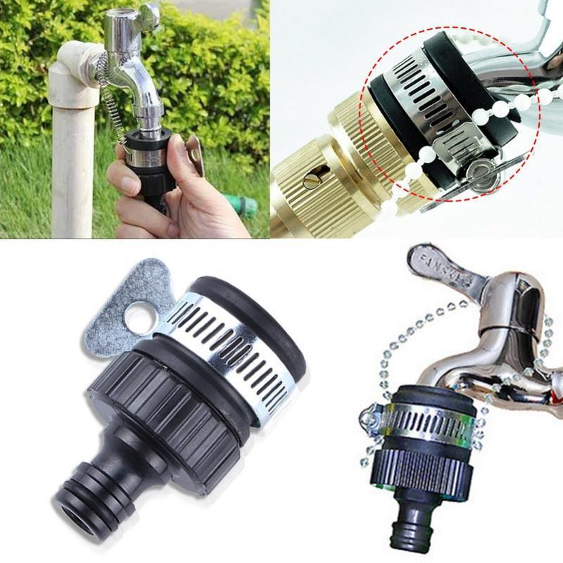 universal water faucet adapter plastic hose fitting hose irrigation garden