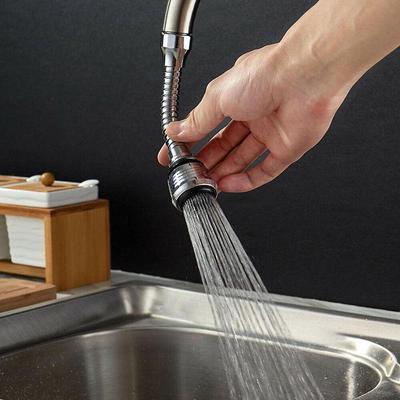 360 swivel flexible hose water tap sink