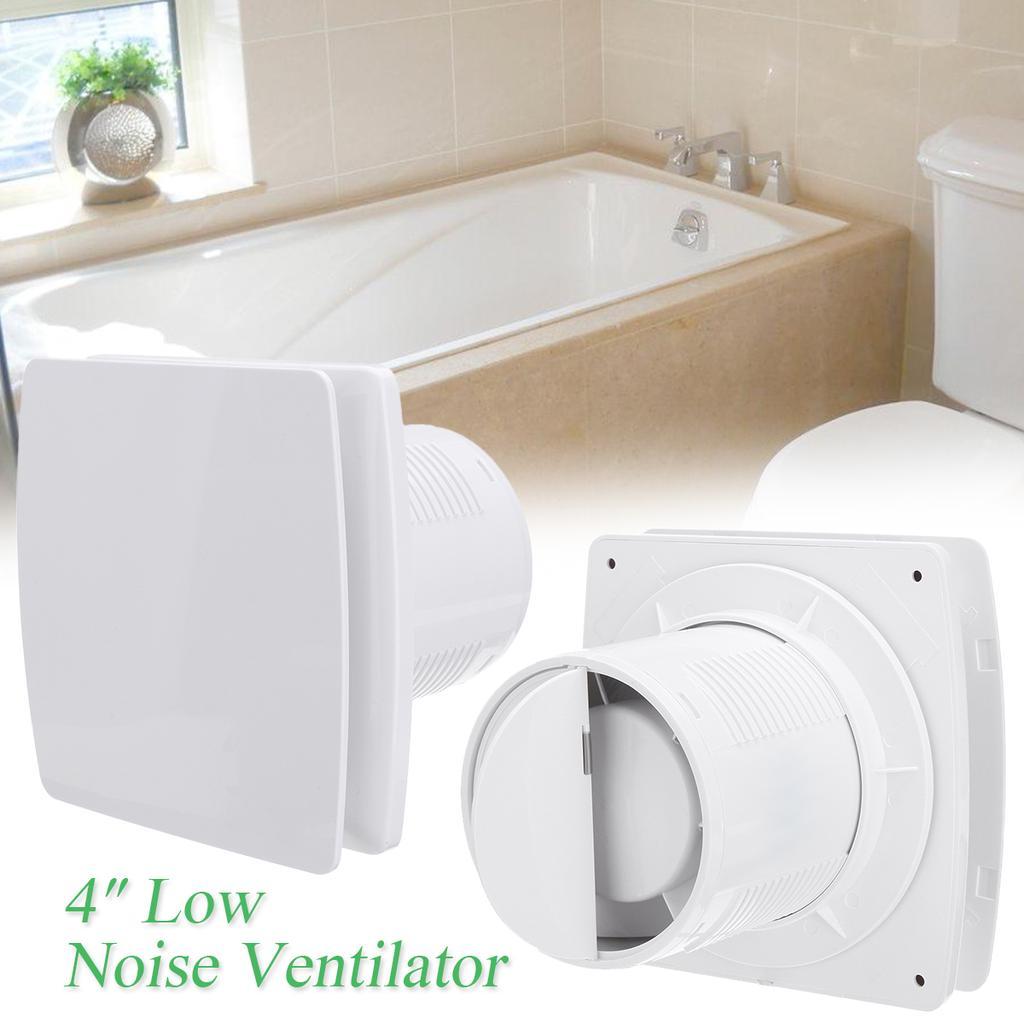 12w 4 6 inch home bathroom kitchen toilet low noise ventilator fan hotel wall silent exhaust fan