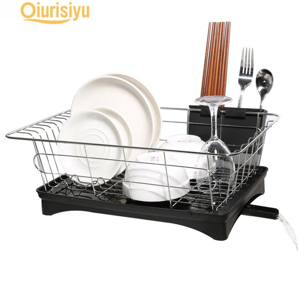 stainless steel dish drainer drying rack buy at a low prices on joom e commerce platform