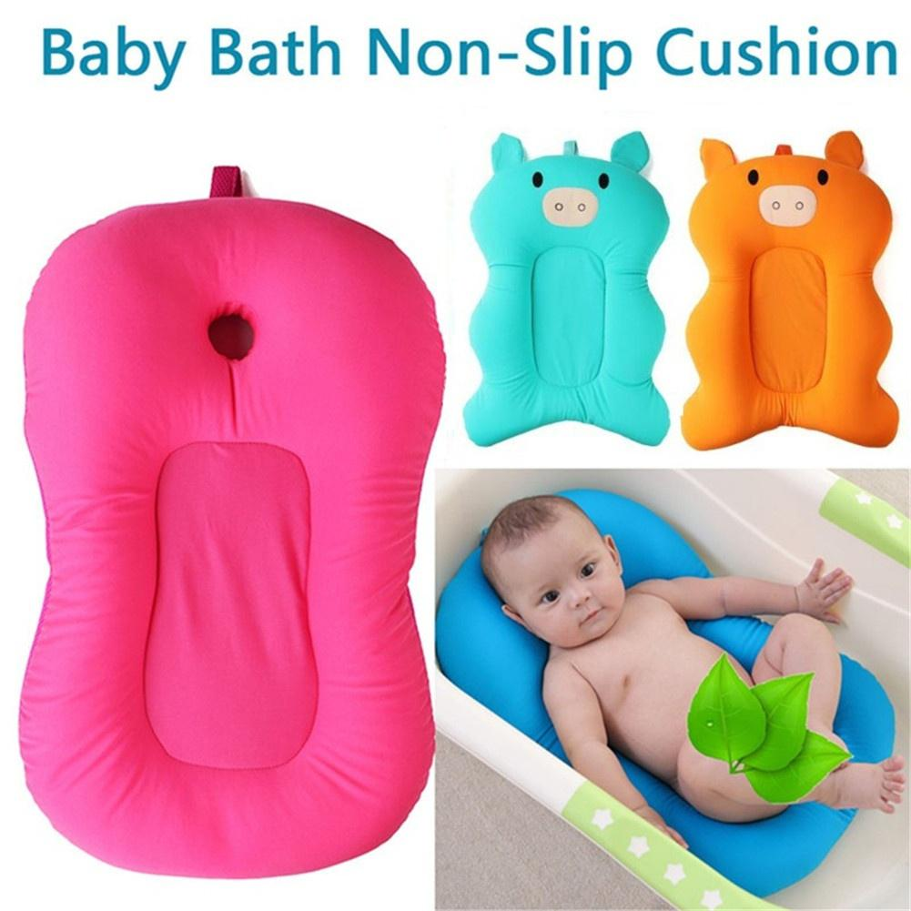 new fashion soft baby bath pillow pad infant lounger air cushion floating bather bathtub pad buy at a low prices on joom e commerce platform