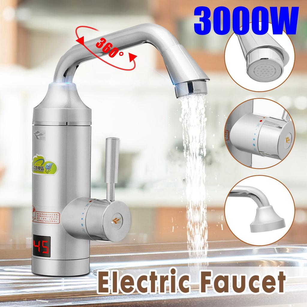 3000w instant tankless electric hot water heater faucet kitchen instant heating tap water heater buy at a low prices on joom e commerce platform