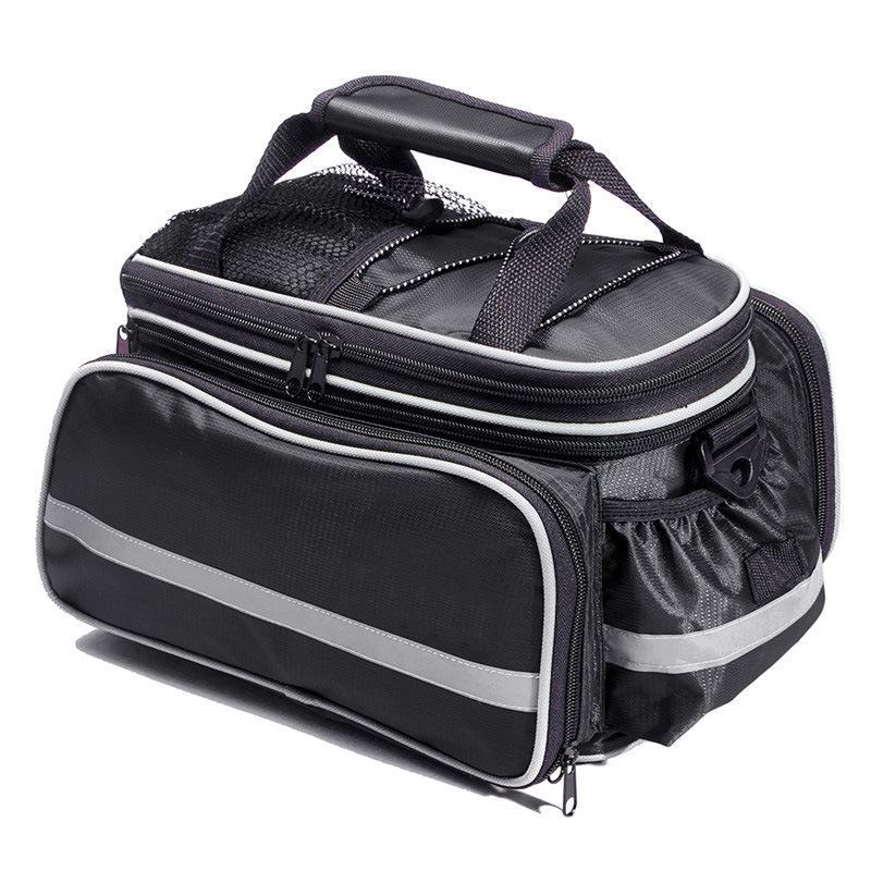 bicycle bags large capacity waterproof mountain bike saddle rack trunk bags luggage carrier bike bag
