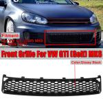 Gloss Black Grille Front Bumper Lower Honeycomb Grill For Vw Gti Golf Mk6 Vi 09 13 Buy At A Low Prices On Joom E Commerce Platform