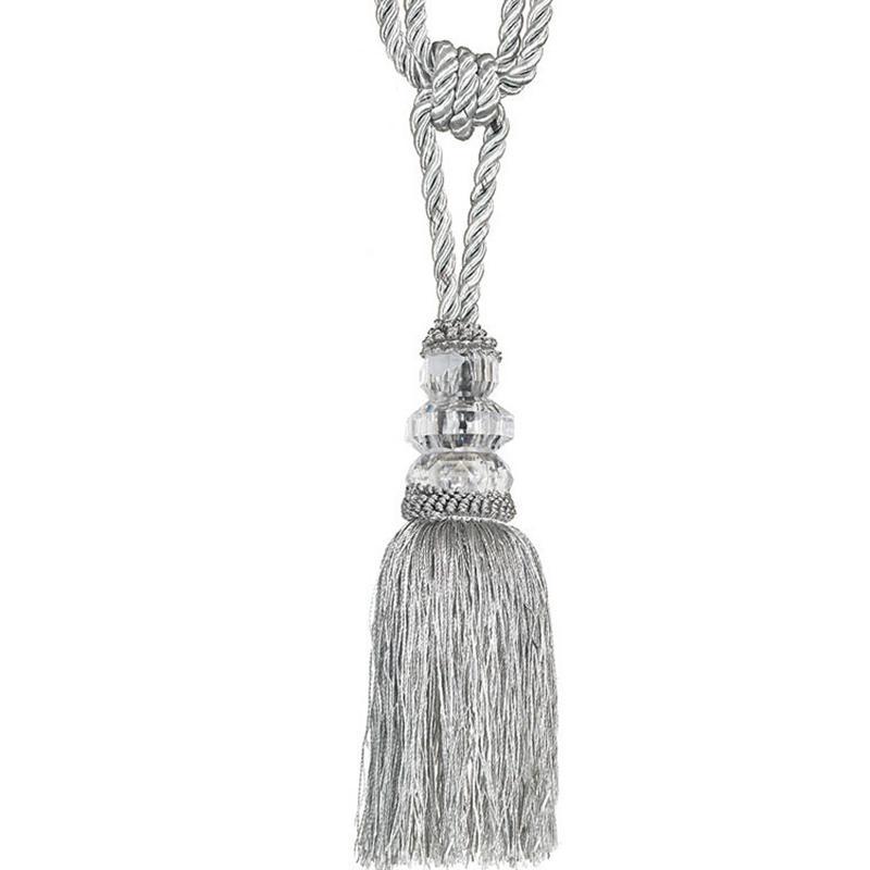 1 pair curtain tiebacks elegant tassel rope window drapery holdbcak tie backs