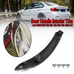 Rear Right Door Pull Handle Interior Trim Black With 4 Screwfor Bmw F30 F31 F32 F33 2012 17 Buy At A Low Prices On Joom E Commerce Platform