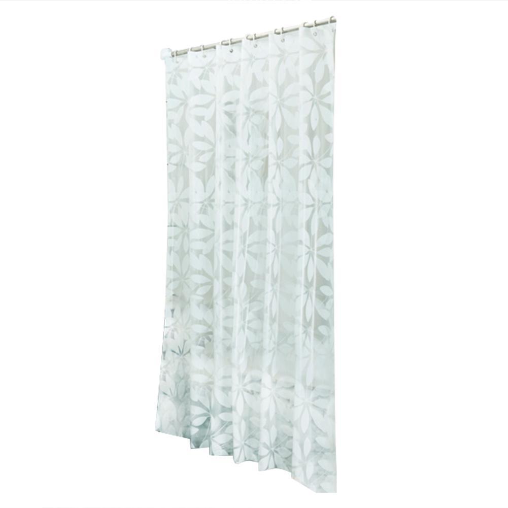 12 hooks bathroom bath shower curtains
