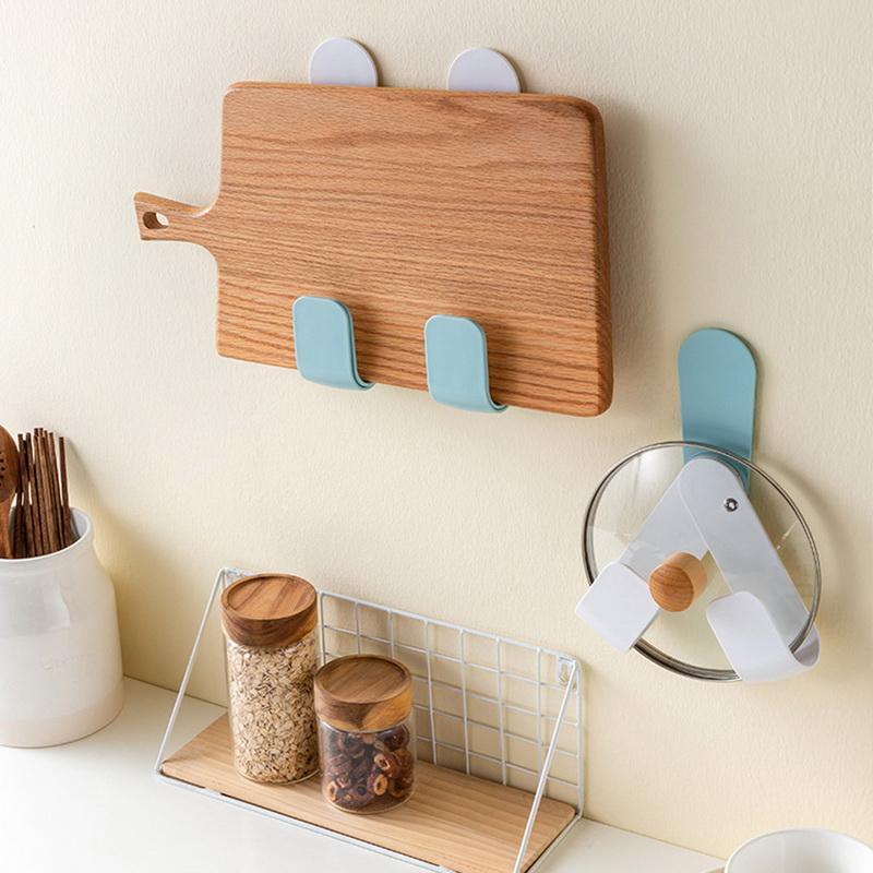 dozzlor fashion kitchen cabinet door wall mount pot lid organizer rack adjustable pan lid holder buy at a low prices on joom e commerce platform