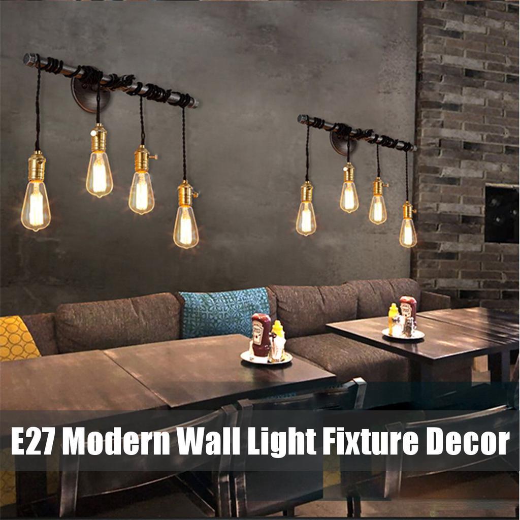 industrial loft lamp retro decor wall light fixtures for living room home indoor sconces lighting
