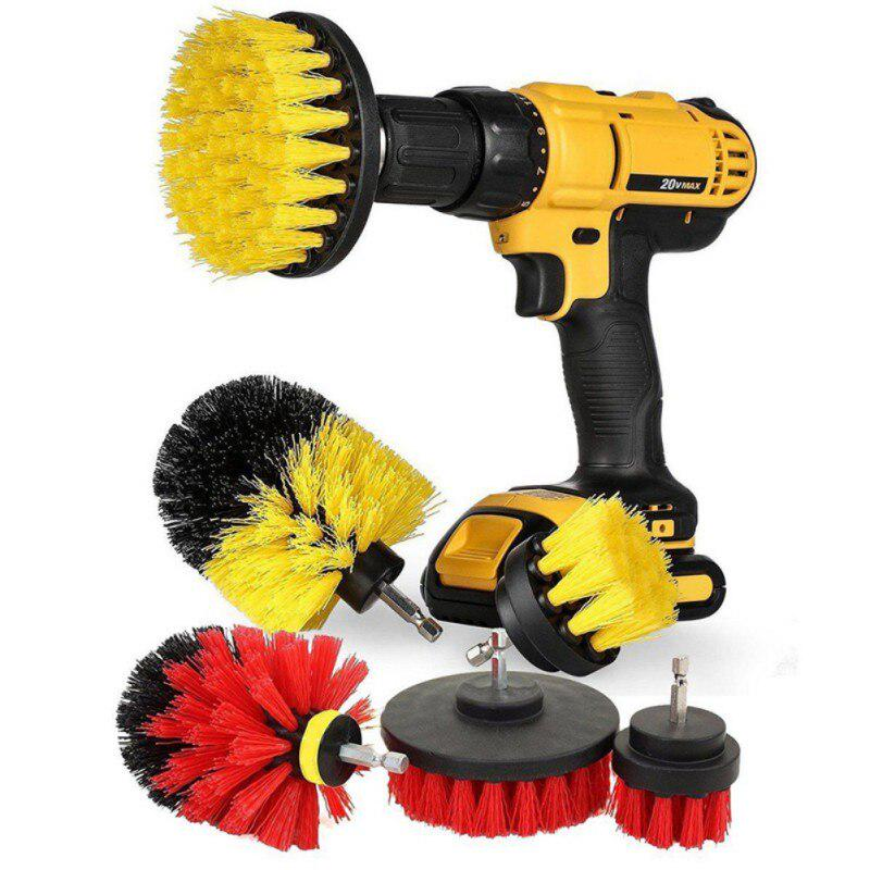 power scrubber brush drill brush clean for bathroom surfaces tub shower tile grout cordless power scrub drill cleaning kit buy at a low prices on joom