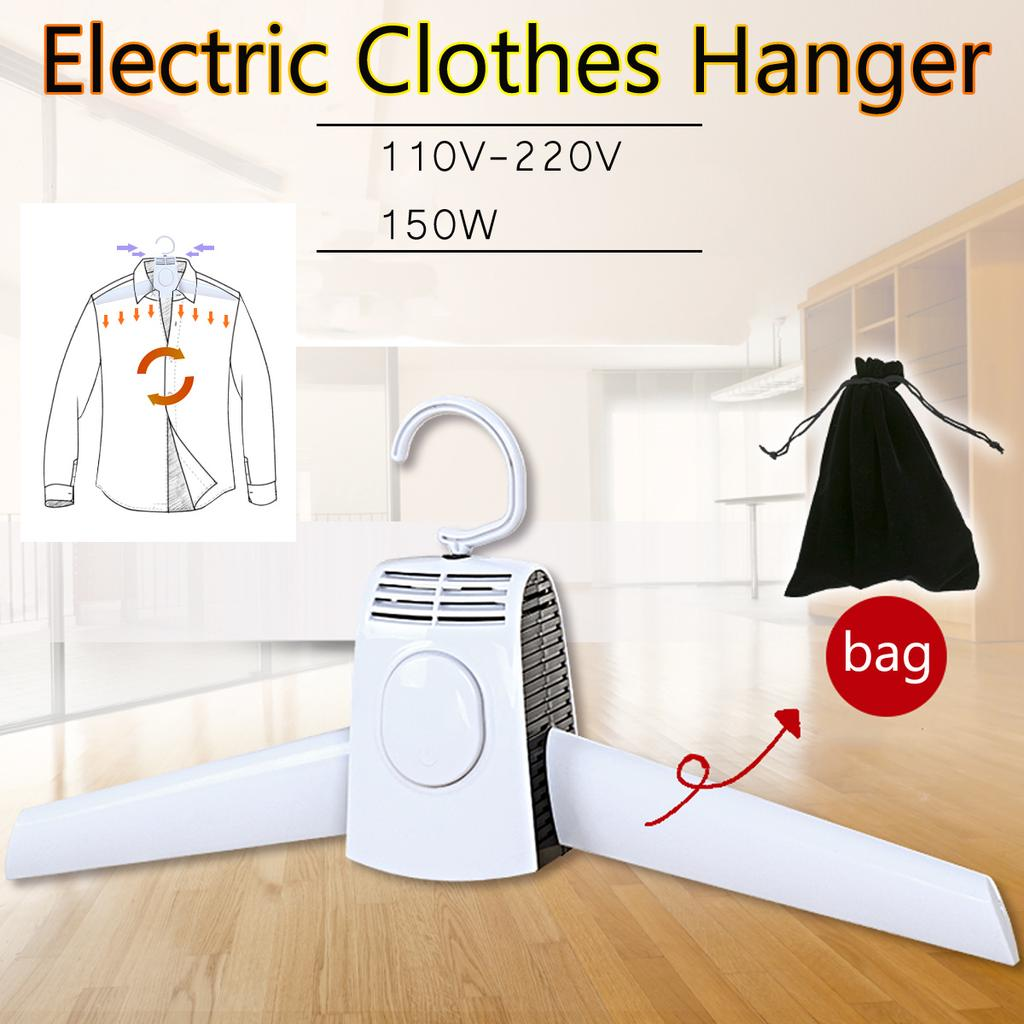 portable clothes hangers electric laundry dryer smart shoes dryer rack coat hanger for winter home travel rod rack hangers buy at a low prices on joom