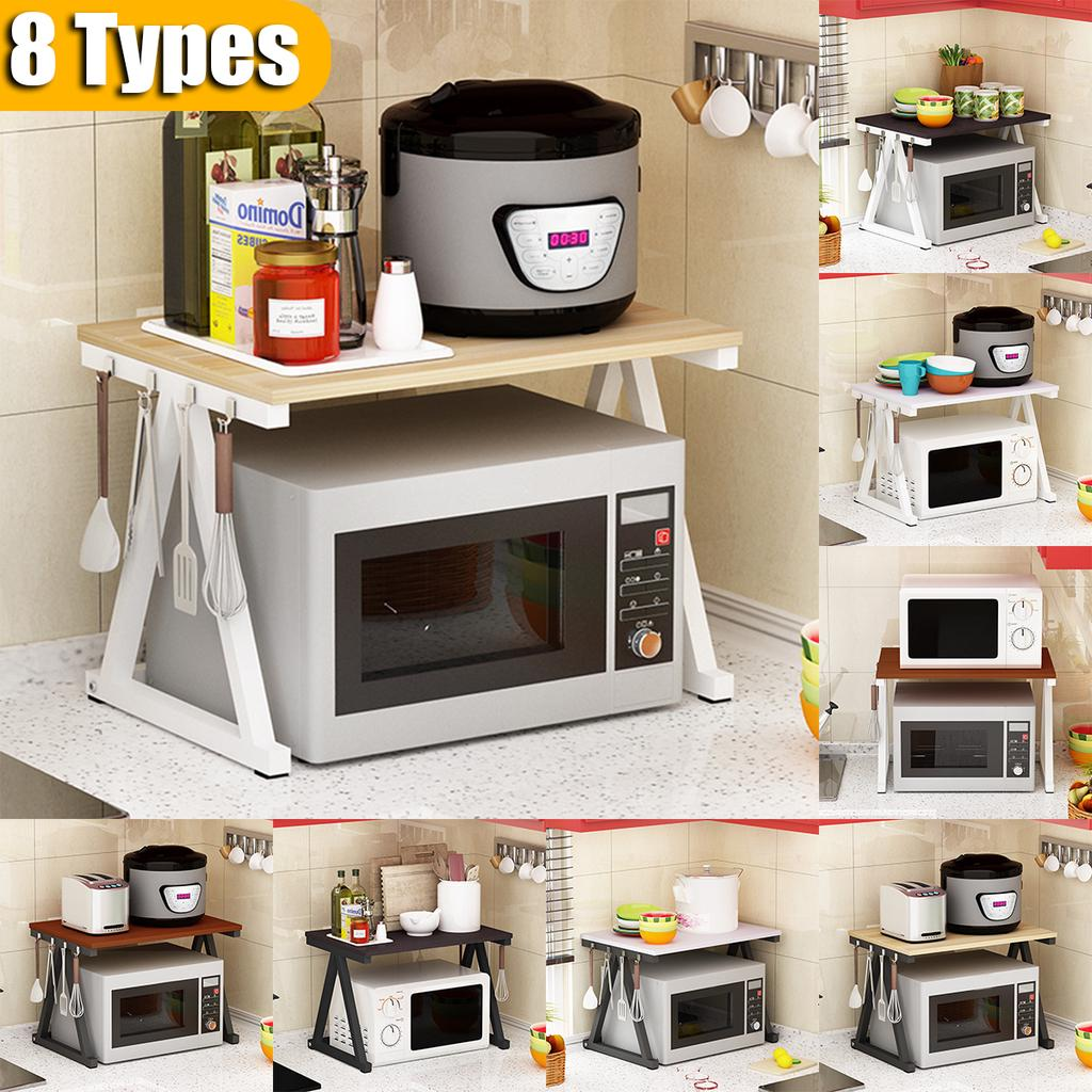 2 tiers microwave oven rack kitchen baker rack microwave oven stand storage cart workstation shelf buy at a low prices on joom e commerce platform