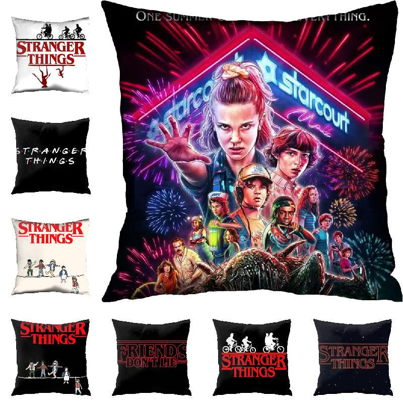 movie stranger things pillow case pillow cover bedroom throw pillow case home decor buy at a low prices on joom e commerce platform