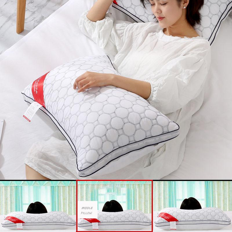 pillow core hotel pillow core anti mite home help sleep protection cervical spine adult meddle pillow single home textiles pillow memory foam pillow