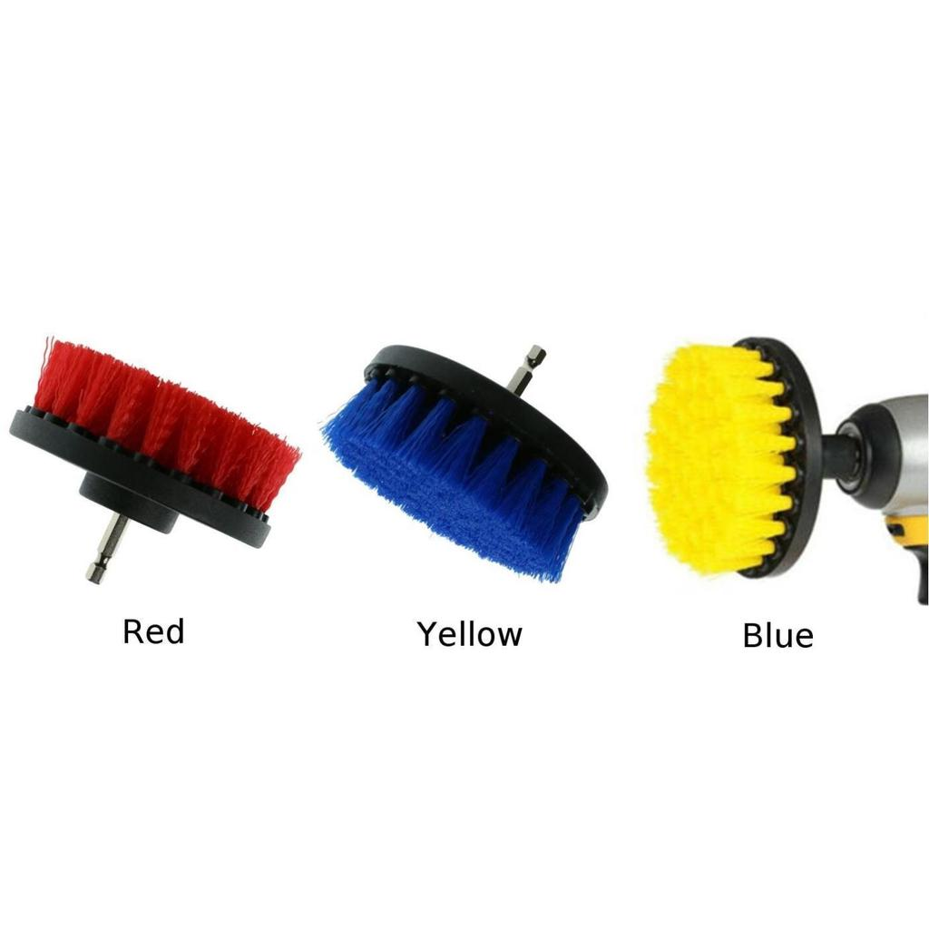 4 power scrubber drill rotary brush tub shower tile wall cleaner cleaning tool
