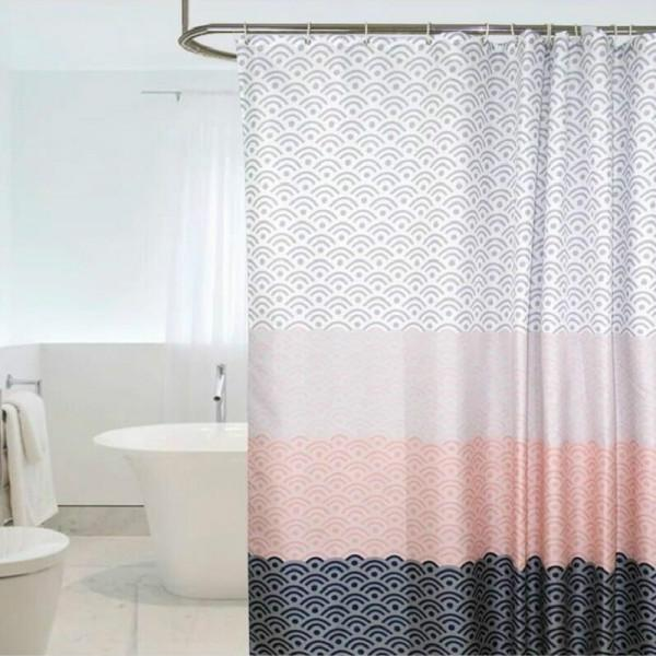 waterproof geometric shower room curtain with 200 x height 180cm buy at a low prices on joom e commerce platform