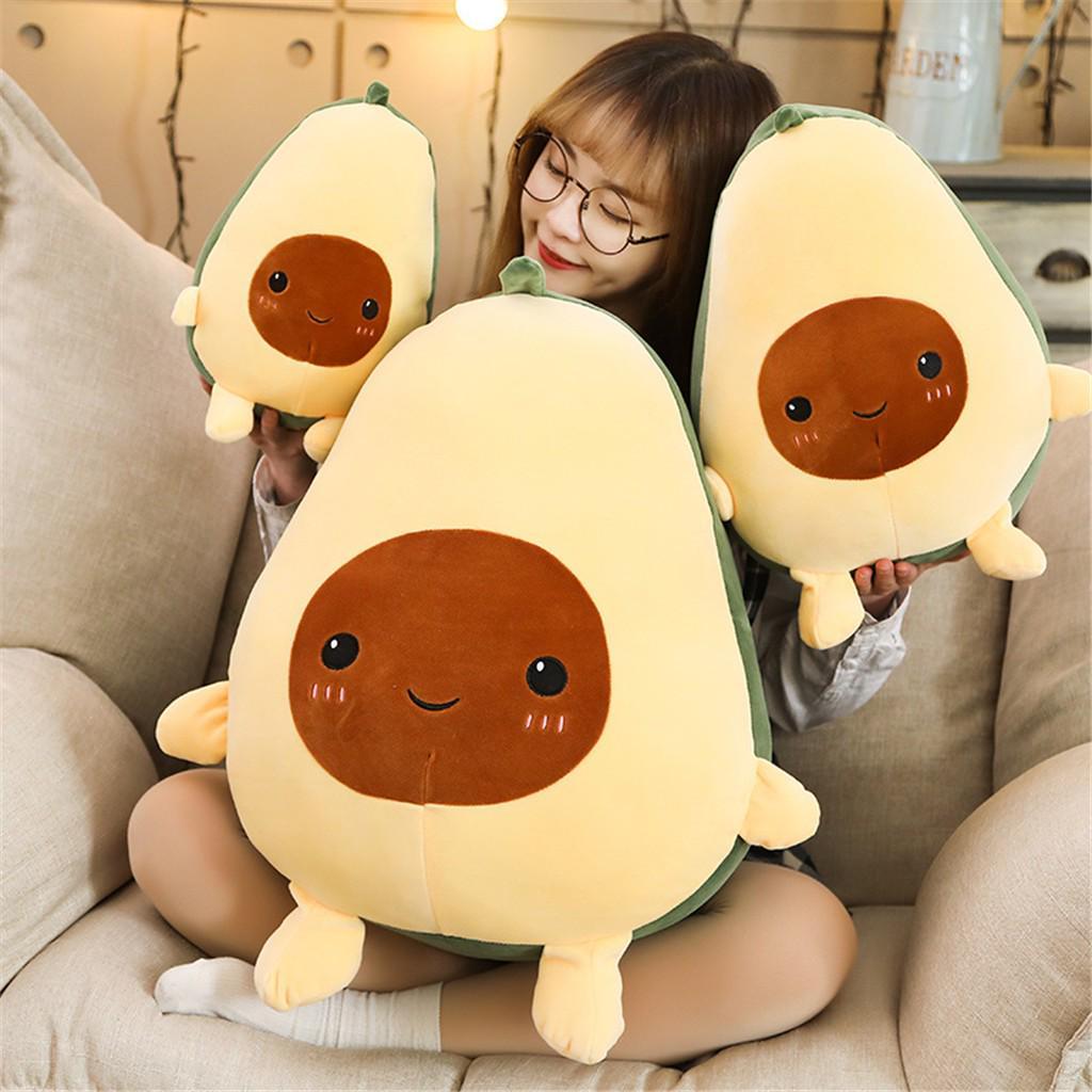 stuffed plush avocado toy pillow comfort food avocado plush pillow buy at a low prices on joom e commerce platform