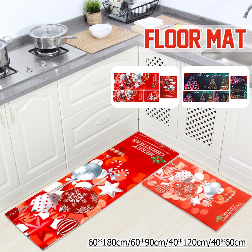 Christmas Kitchen Mat Bath Carpet Floor Rug Bedroom Living Room Xmas Doormat Buy At A Low Prices On Joom E Commerce Platform