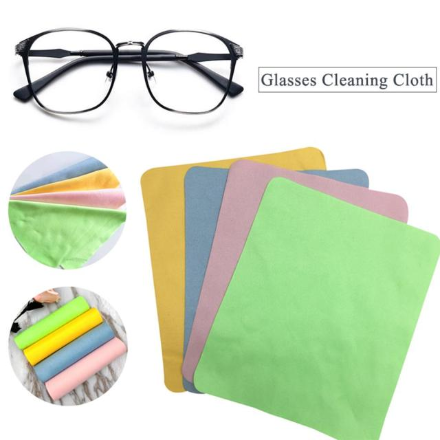 Household Suede Microfiber Glasses Cleaning Cloth Lens Mobile Phone Screen  Cleaning Wipes