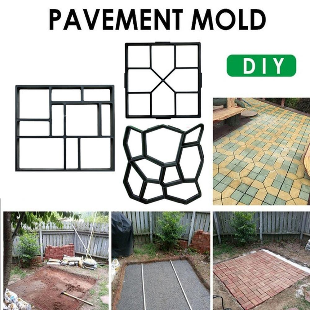 garden path irregular paving molds concrete stepping stone cement mould brick diy home garden tools buy at a low prices on joom e commerce platform