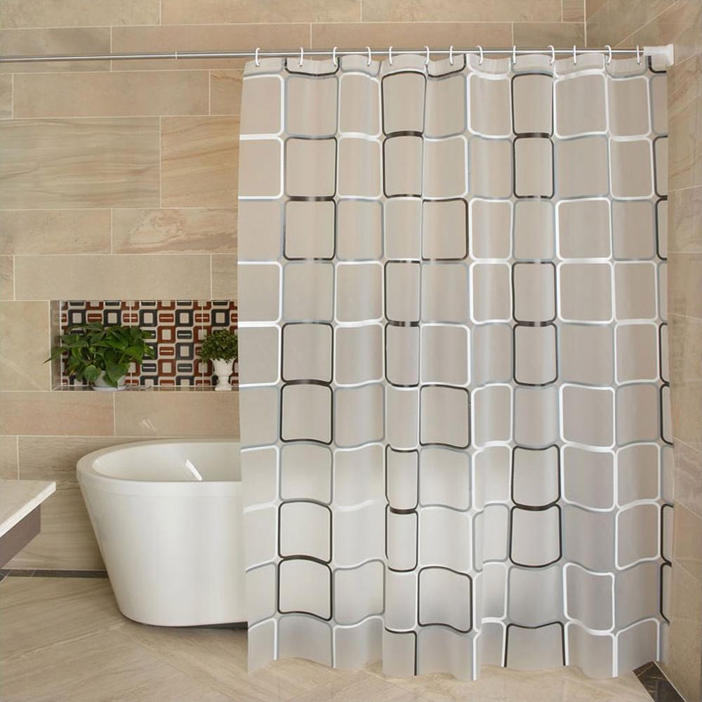 waterproof shower curtain liner 180 180 peva fabric