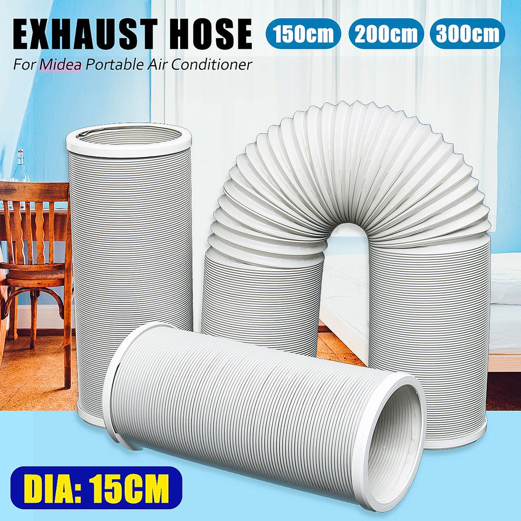 1 5m 2m 3m flexible exhaust pipe vent hose for midea portable air conditioner buy at a low prices on joom e commerce platform