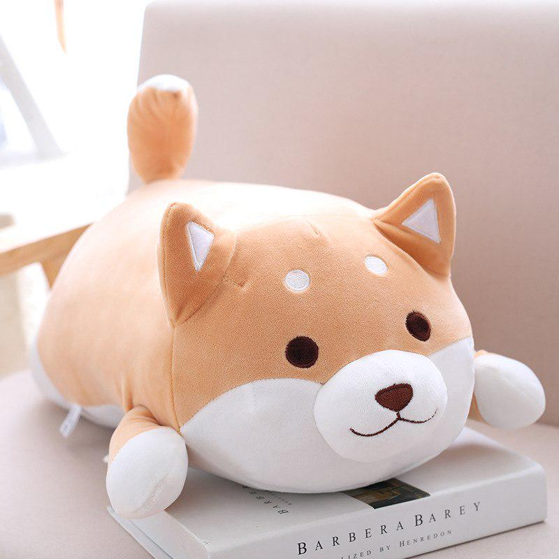 corgi dog short plush toy stuffed soft cartoon animal doll pillow gift for kids