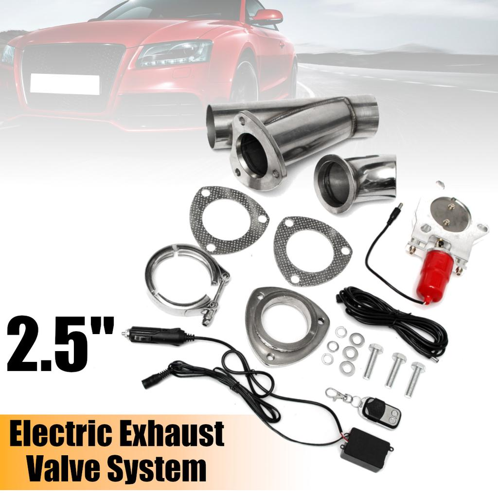2 5 inch electric exhaust valve catback downpipe systems kit remote intelligent e cut buy at a low prices on joom e commerce platform