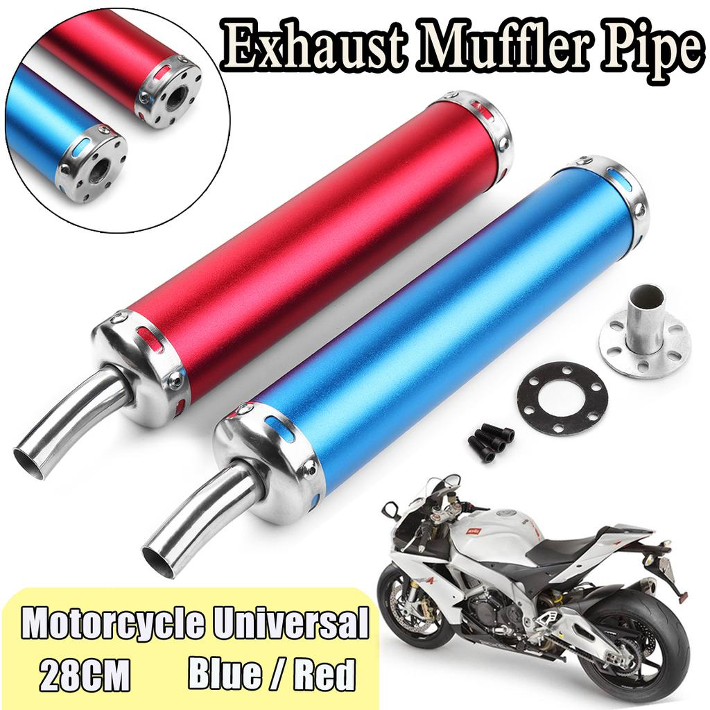 universal motorcycle exhaust muffler silence pipe silencer for racing scooter buy at a low prices on joom e commerce platform