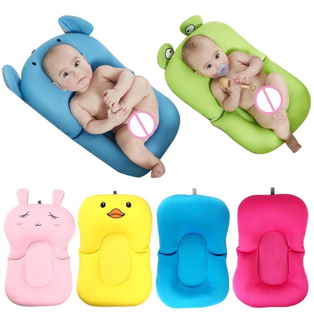 newborn bath floating pad mat baby bath tub pad shelf bathtub seat infant support cushion mat