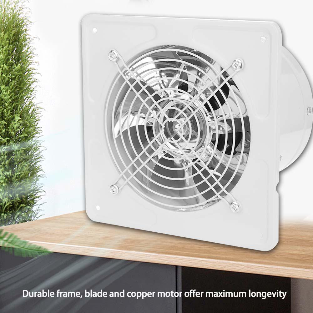 40w 220v wall mounted exhaust fan low noise home bathroom kitchen garage air vent ventilation