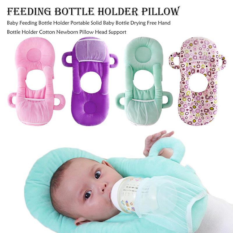 infant baby bottle rack free hand bottle holder baby milk bottle feeding cup learning nursing pillow buy at a low prices on joom e commerce platform