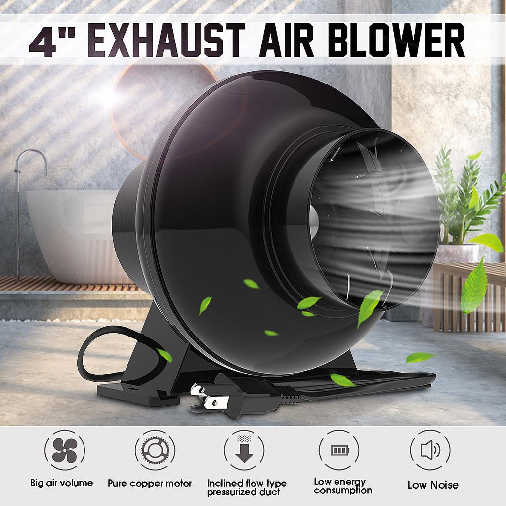 240v 38w 4 inch inline duct booster fan ventilation vent air blower exhaust ventilator lower noise buy at a low prices on joom e commerce platform