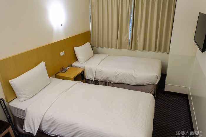 [台北] 洛碁大飯店林森館-近晴光商圈.花博.樸實又處處週到的平價商務旅館