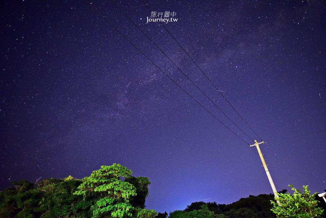 沖繩景點,沖繩星空,沖繩銀河,沖繩夜景,今歸仁村,秘境