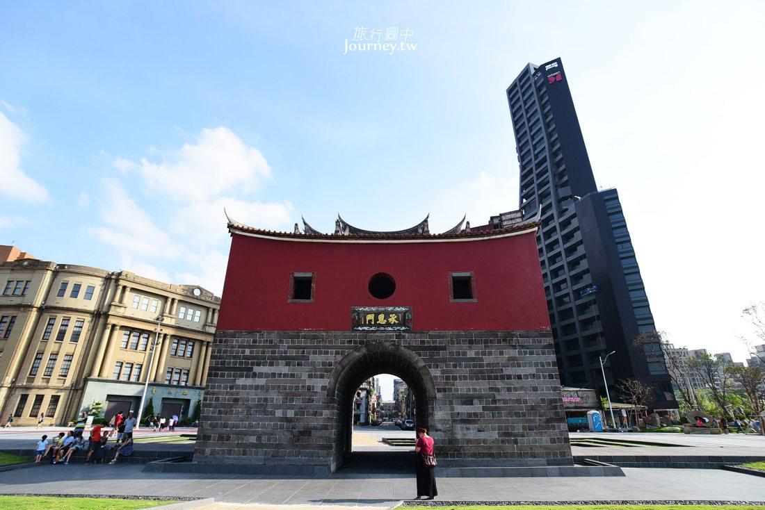 北門,台北凱旋門,捷運北門站,承恩門,台北景點
